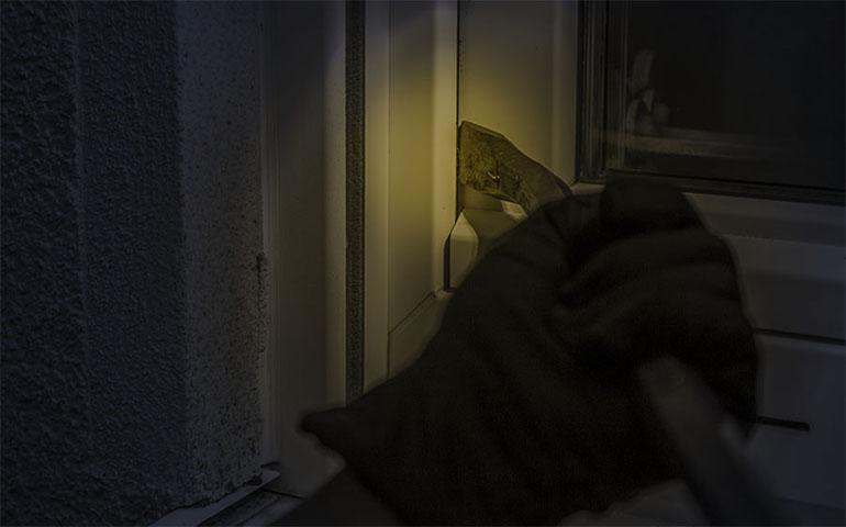 burglar night