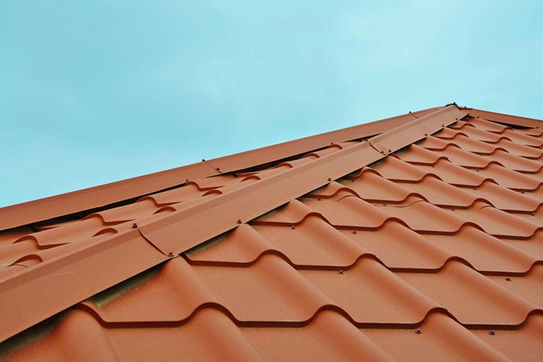 classic metal roof