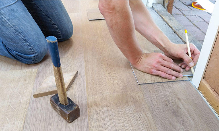 diy floor tiling