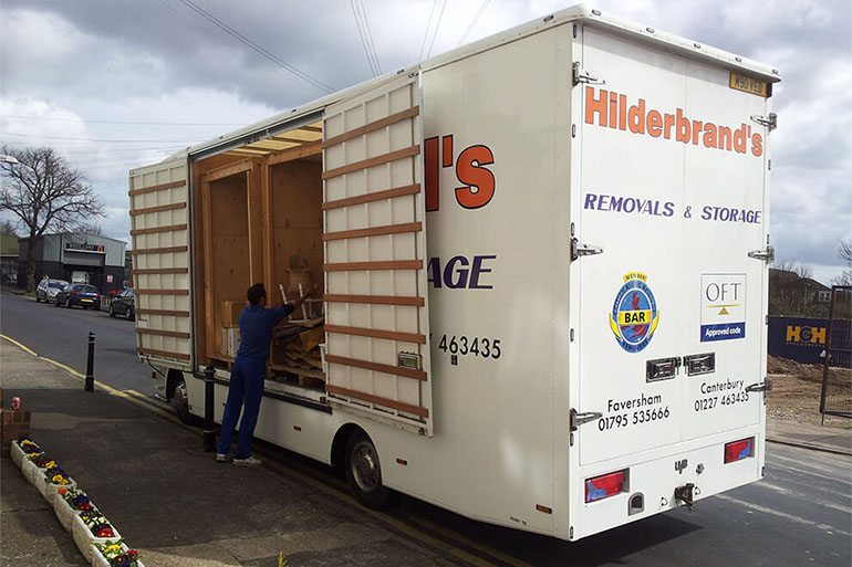 hilderbrands removals truck