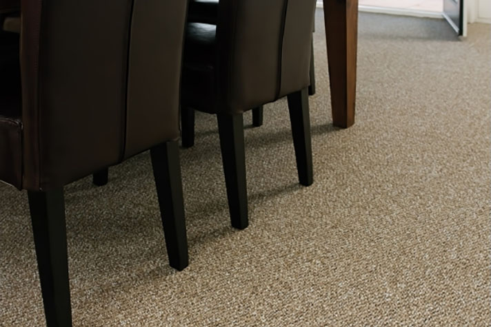 light brown nylon carpet