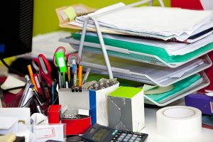 Top 5 cleaning hacks to help organise your desk