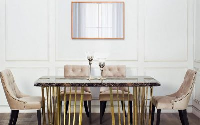 What are the best wall mirrors for the dining room? And how to place them correctly