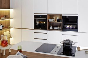 A practical sense with beauty within a kitchen