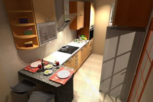 How you can make your small kitchen look spacious