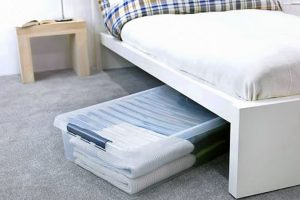 Under bed storage solutions
